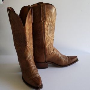 Lucchese woman cowgirls rodeo boots 5.5